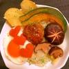 温野菜たっぷりの中華風オイスターロコモコ