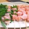 焼き鳥のササミ 串の刺し方!にんにく醤油七味ダレも旨い!