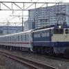 東武70000系の甲種輸送を撮る。