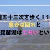 【東海道五十三次を歩く!16日目】急がば回れと夜の琵琶湖はエモいという話