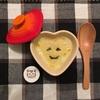カボチャプリン×息子と夕食×ハロウィン仕様