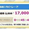 【ハピタス】 SBI FXトレードに申し込んでみた。ハピタスセレクションで17,000ポイント!!!