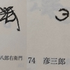 天正19年3月12日井戸村与六宛八郎右衛門作職書上(抄出)