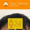 今日の顔年齢測定 424日目