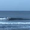 形良い腰サイズの波、サーフ楽しめてます。波・ 湘南鵠沼 9/18