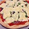 【天然酵母】混ぜて寝かせるだけ!簡単「天然酵母のピザ生地」と「行者ニンニクとサラミのピザ」作り方・レシピ。