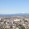 浅間山を眺める