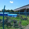 杉久保の海老名市自転車保管場所と(仮称)再生工房