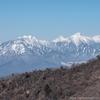 茅ヶ岳から八ヶ岳