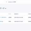 SFDC:Lightning Experienceのファイル画面