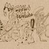 2ページ漫画4作目・・・。戦慄!ビビりながらホラー漫画を描いてみた・・・。