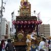 館山市上町の山車は彫刻の裏側にも彫刻!海を表現した彫刻に注目。