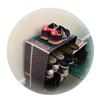 DIYでいいんじゃないの/ダイソーグッズで靴箱作り