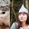 マインドコントロールからペットを守るにはこれしかない!『TIN FOIL HAT』を被って猫ちゃんと一緒に身を守ろう!