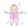 【次女0歳3カ月】育てやすい…