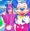 小島みなみ とミッキーマウス…