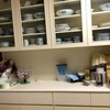 食器棚の整理