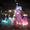 クリスマスに友人と食事、新宿から歩いたらサザンテラスのツリーを見れた
