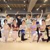 今日のバレエレッスンで花のワルツを踊りました!
