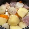 クックマイスターでチキンカレー(加圧調理)