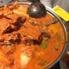 東中野の韓国料理店「ソナム」で真っ赤なカムジャタン