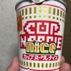 日清 カップヌードル ナイス 濃厚! ポークしょうゆ  食べてみました