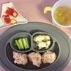 お野菜からの離乳食  [230日目 サーモンとお豆腐のつみれ]