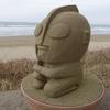 砂像のウルトラマンが悲しいそうでした