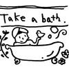 お風呂掃除.