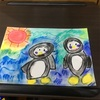 Art 冬のペンギンくん