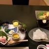 原付旅で泊まった山口市湯田温泉の宿「かめ福」で人生初めて食べた会席料理をフルコースで紹介します!【ただの飯テロ】