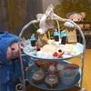 雪降る街のデザートタワーセット〜☆*:.。. o(≧▽≦)o .。.:*☆EGG&SPUMA×サンリオ Little TwinStars「Twinkle Snow Cafe」さん(≧∇≦)!!