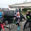 柏崎からレース班極寒練131km