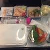 高度1万メートルのレストラン NH830 ムンバイ-東京成田はもちろん和食で