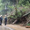 熊本県内、土砂災害に警戒を 南阿蘇村など総雨量300ミリ超