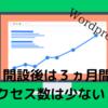 【初心者用】ブログを始めて3か月はアクセス数が少ない!?