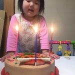 ちーたん3歳おめでとう🎂