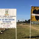 アフリカで大の字