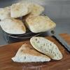 パン作り初心者が今度は簡単リュスティックに挑戦。多少雑でも美味しくできました。