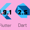 【Flutter】Flutter1.9.1とDart2.5まとめ(Flutterのバージョンアップしました)