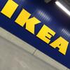 初IKEA。ルルふて寝〜。