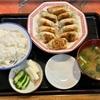 🚩外食日記(593)    宮崎ランチ   「手づくりギョーザ八味屋(はちみや)」②より、【焼きギョーザ定食(大)】‼️