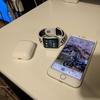 Apple Watch 38mmケース用 Nikeスポーツバンド  オブシディアン/ブラック 購入!