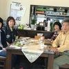 韓国料理で美女と出張昼食会