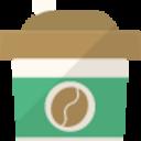 コーヒーを飲みながら。