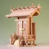 神明造りの一社神殿 上品