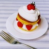 いちごとクリームがたっぷり♬簡単デコレーション 重ねるだけのイチゴのショートケーキ