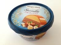 ハーゲンダッツ「ノワゼットショコラ」は少し大人びた味わい。まるでケーキを楽しんで欲しい。