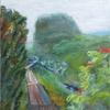 旅の油絵、20年ぶりの大雪山