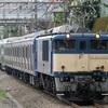 E235系1000番台配給輸送(東所沢駅)